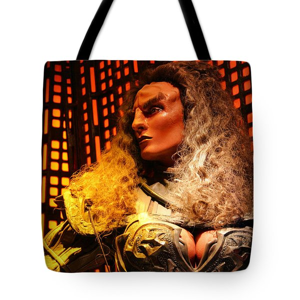 Tote Bag featuring the photograph Klingon by Kristin Elmquist