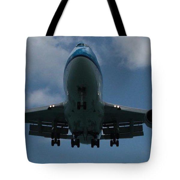Klm Boeing 747 Tote Bag