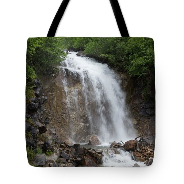 Klondike Waterfall Tote Bag