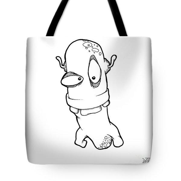 Klovis Tote Bag by Uncle J's Monsters