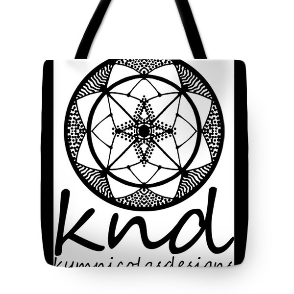 Tote Bag featuring the painting Knd Logo by Kym Nicolas