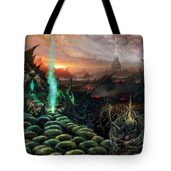 Kneel Away Your Power Tote Bag by Tony Koehl