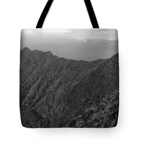 Knife Edge Tote Bag