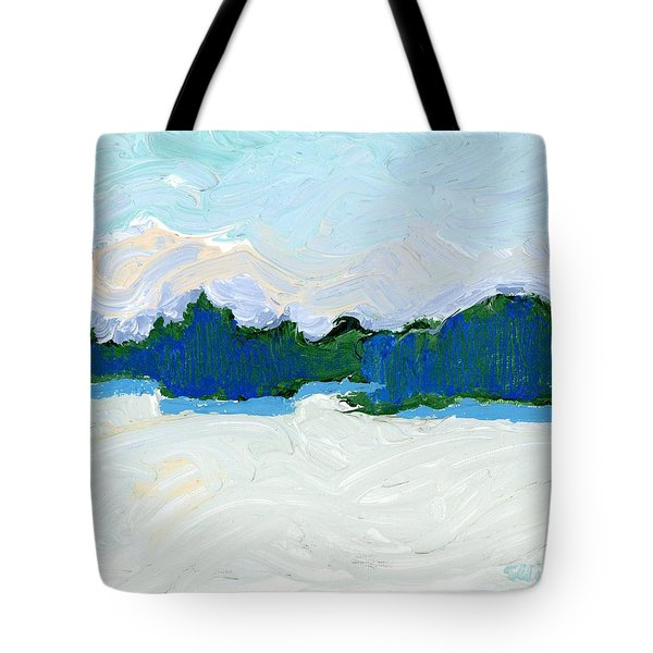 Knife Lake Tote Bag