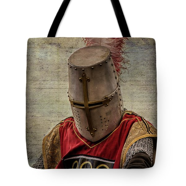 Tote Bag featuring the photograph Knight In Armor by Mary Hone