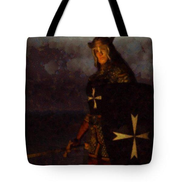 Knight King Tote Bag
