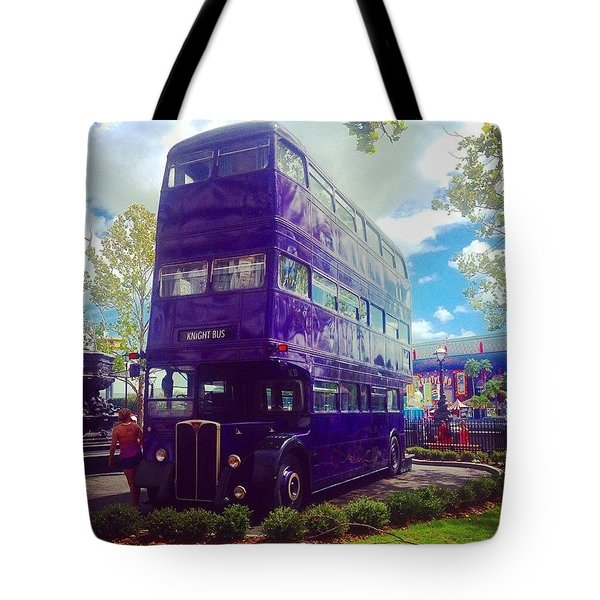 The Knight Bus Tote Bag