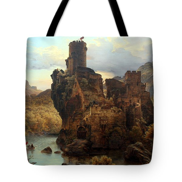 Knights Castle Tote Bag