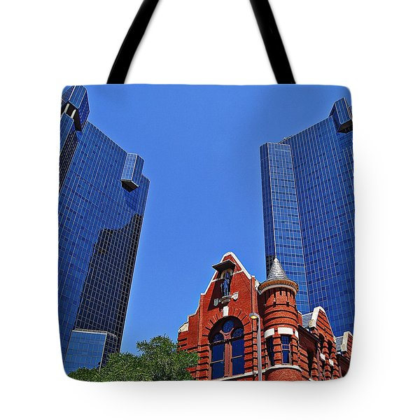 Knights Of Pythias Castle Hall Tote Bag by Kathy Churchman
