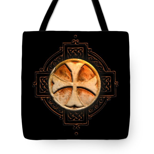 Knights Templar Symbol Re-imagined By Pierre Blanchard Tote Bag