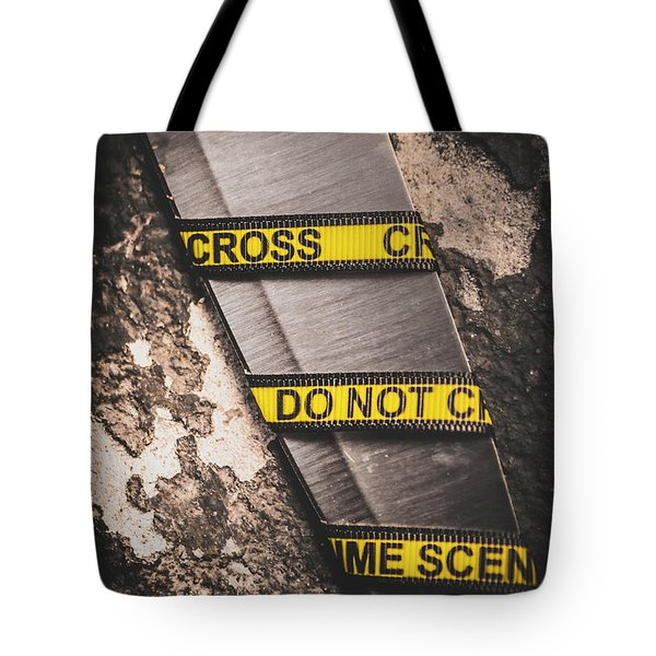 Knives And Clues Tote Bag