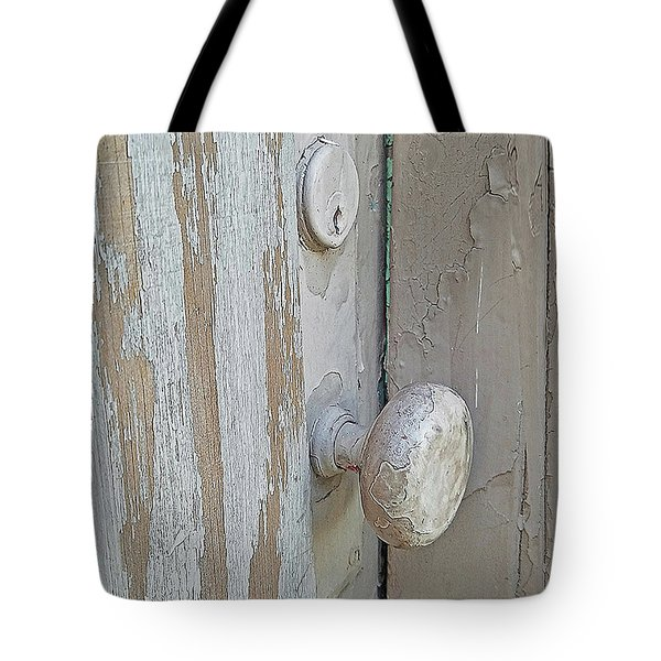 Tote Bag featuring the photograph Knob Nostalgia by Suzy Piatt