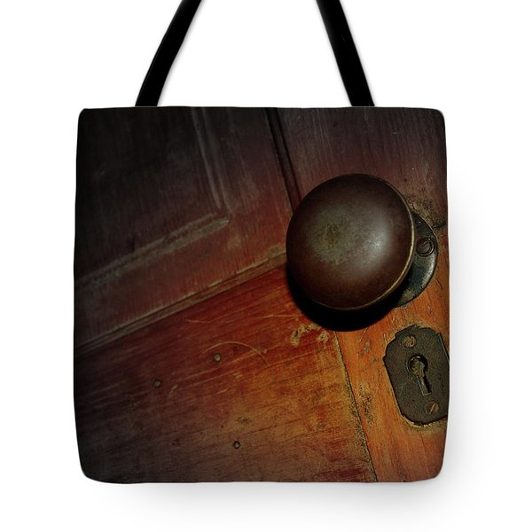 Knob Of Old Tote Bag