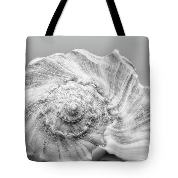 Tote Bag featuring the photograph Knobbed Whelk by Benanne Stiens
