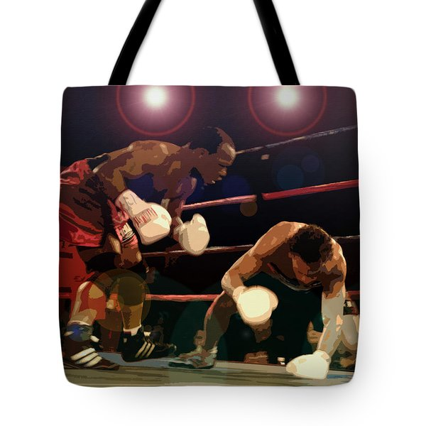 Knockdown Tote Bag by David Lee Thompson
