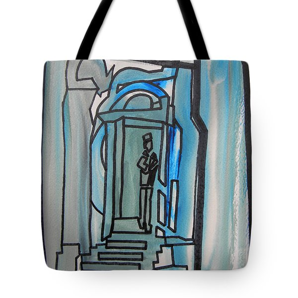 Knocking On Heaven's Door Tote Bag