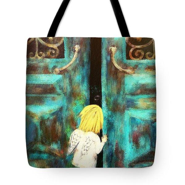 Knocking On Heaven's Door Tote Bag