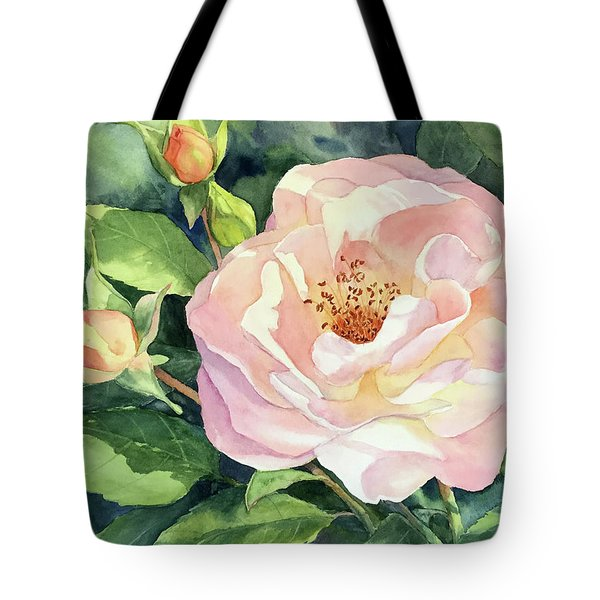 Knockout Rose And Buds Tote Bag