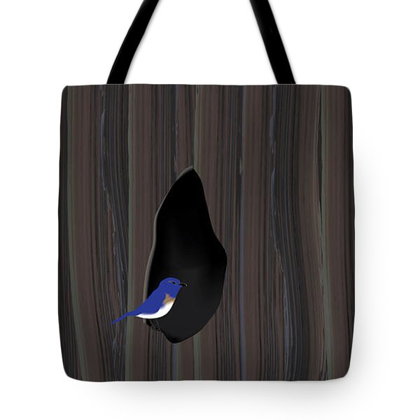 Knot Dweller Tote Bag by Kevin McLaughlin