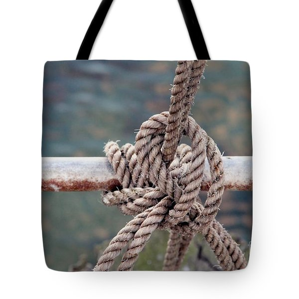 Tote Bag featuring the photograph Knot Of My Warf by Stephen Mitchell