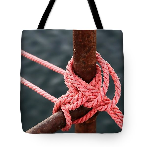 Tote Bag featuring the photograph Knot On My Warf IIi by Stephen Mitchell