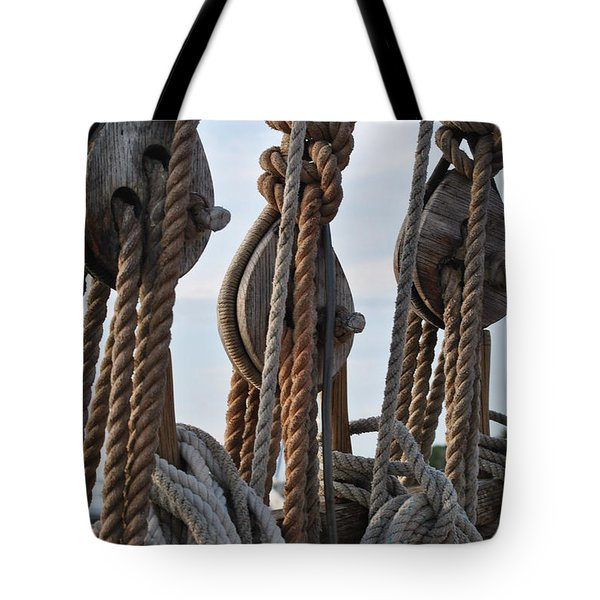 Knot Time Tote Bag