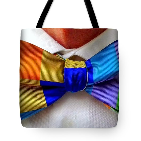 Knotted Spectrum Tote Bag