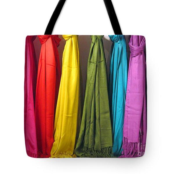Knots And Fringe Tote Bag
