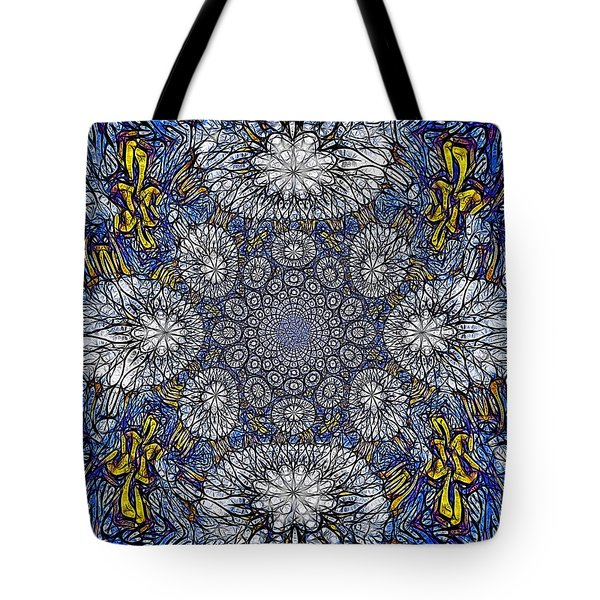 Knotted Glasswork Tote Bag
