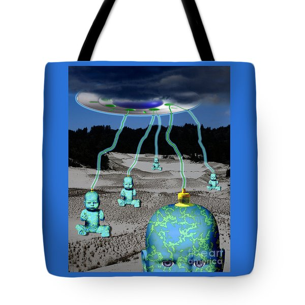 Knowledge From The Gods Tote Bag by Keith Dillon
