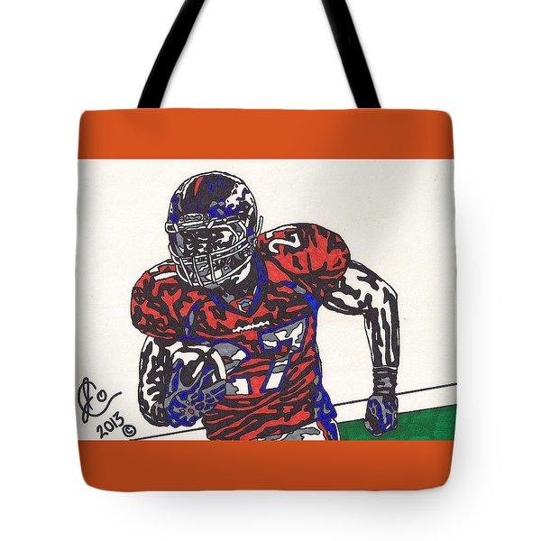 Knowshon Moreno 2 Tote Bag by Jeremiah Colley