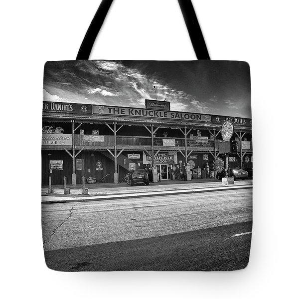 Knuckle Saloon Sturgis Tote Bag
