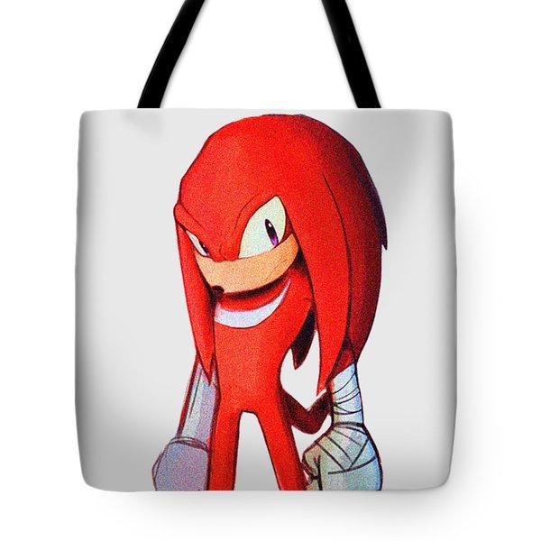 Knuckles Sketch Tote Bag