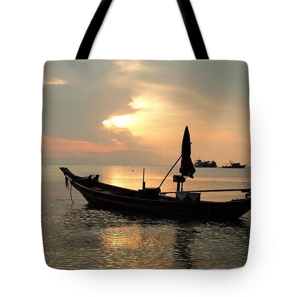 Ko Tao In Evening Tote Bag