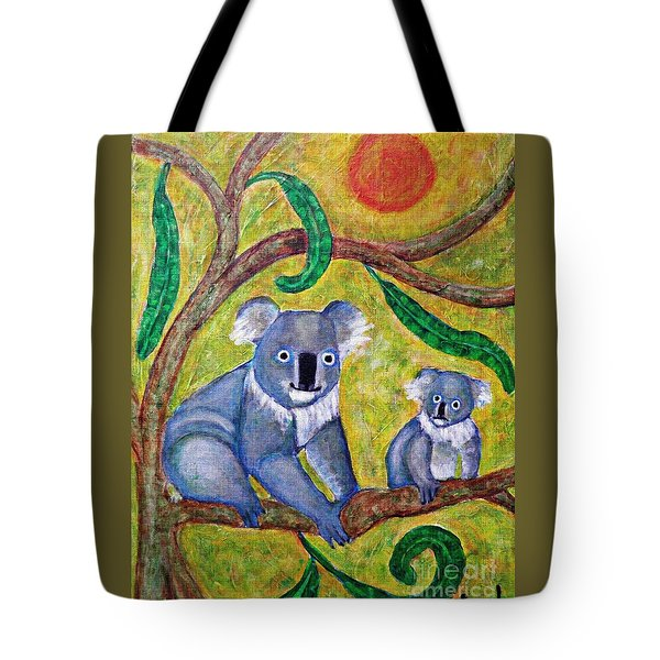 Koala Sunrise Tote Bag by Sarah Loft