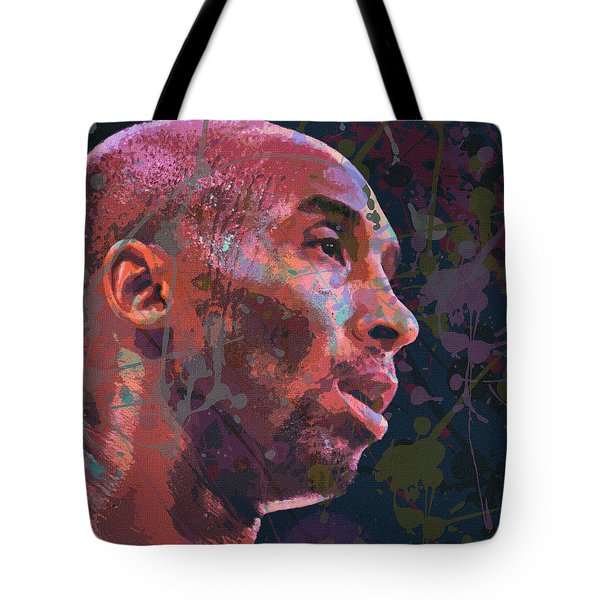 Tote Bag featuring the painting Kobe by Richard Day