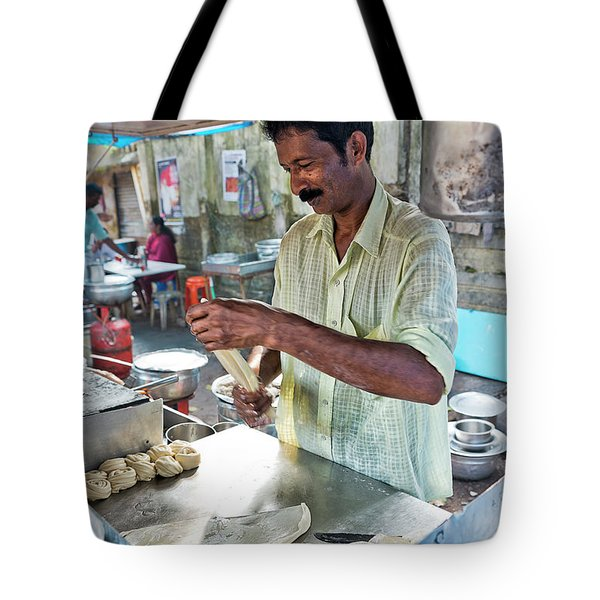 Kochi Stall Tote Bag by Marion Galt