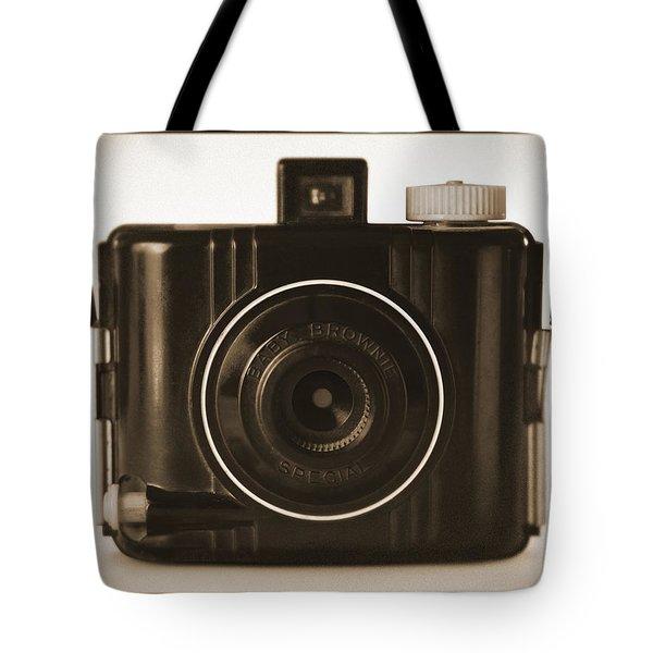 Kodak Baby Brownie Tote Bag by Mike McGlothlen