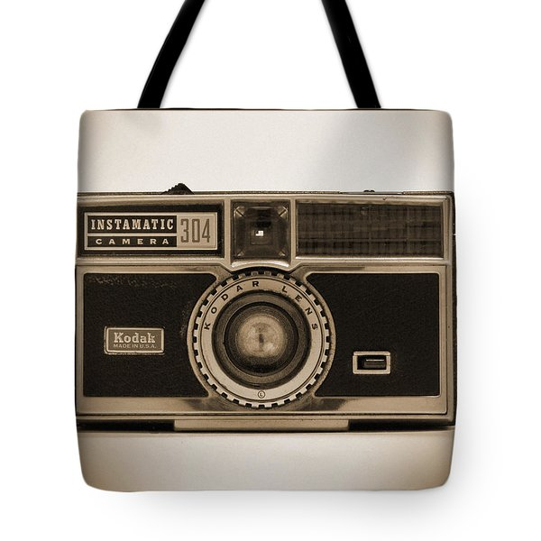 Kodak Instamatic Camera Tote Bag by Mike McGlothlen