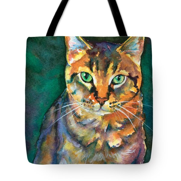Tote Bag featuring the painting Kodi by Christy Freeman
