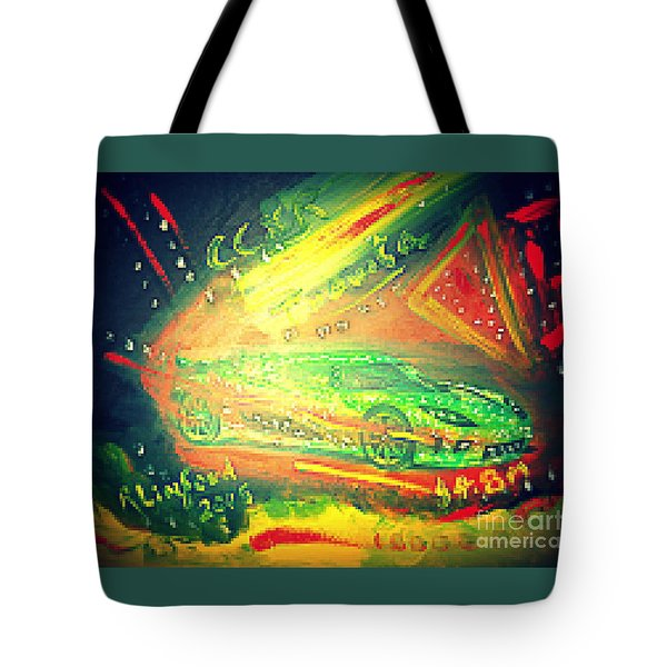 Koenigsegg Ccxr Trevita Four Point Eight Million Dollars Tote Bag by Richard W Linford