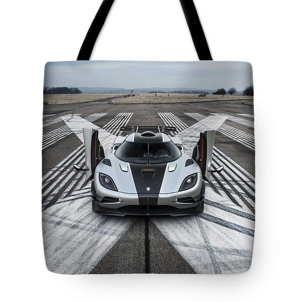 Koenigsegg One1 Tote Bag