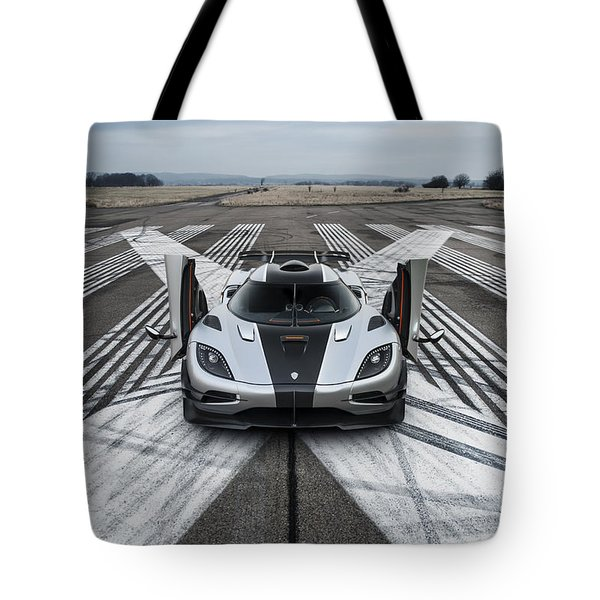 Koenigsegg One1 Tote Bag