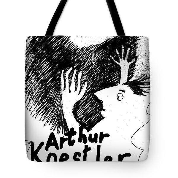 Koestler Darkness At Noon Poster  Tote Bag