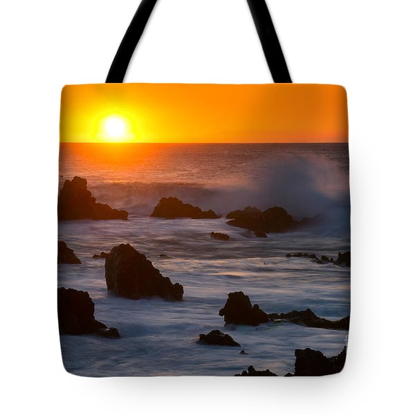 Kohala Sunset Tote Bag