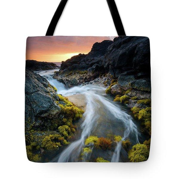 Kohanaiki Sunset Tote Bag