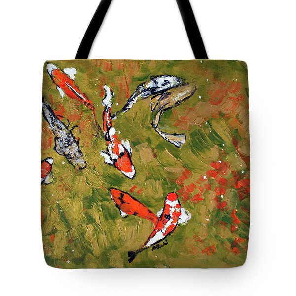 Koi 201746 Tote Bag by Alyse Radenovic