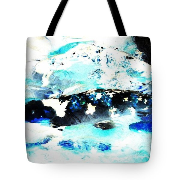 Koi Abstract 2 Tote Bag