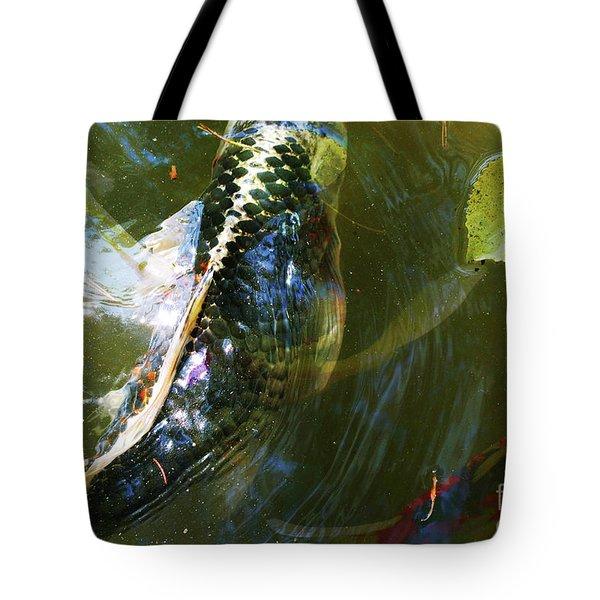 Koi Collage Tote Bag