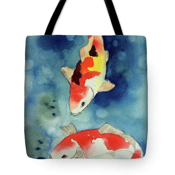 Koi Fish 3  Tote Bag